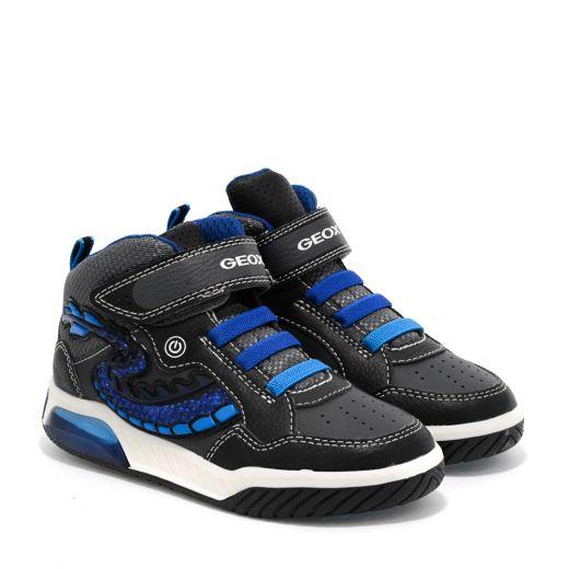 Pantofi Sport Baieti Inek BE Black Royal