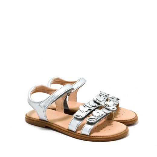 Sandale fete Karly GI Silver