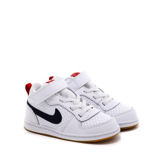 Pantofi Sport Baieti 870027 Court Borough Mid White