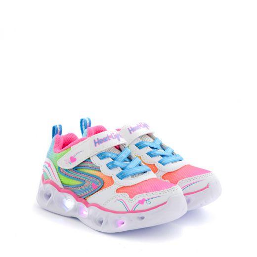 Pantofi Sport Fete Heart Lights Love Sparks White Multi N