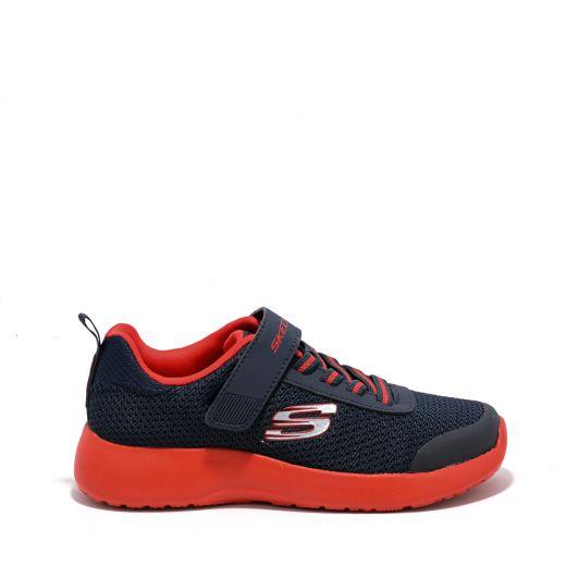 Pantofi sport Skechers Baieti Dynamight Ultra Torque Navy Red N incaltaminte copii bigstep