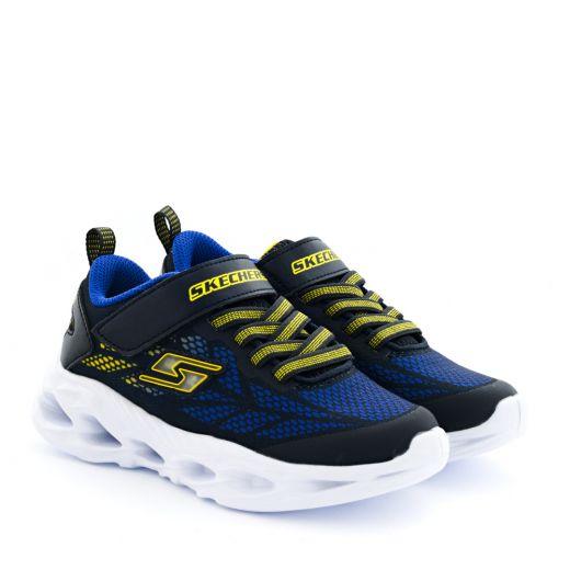 Pantofi Sport Baieti Vortex Flash Navy Yellow