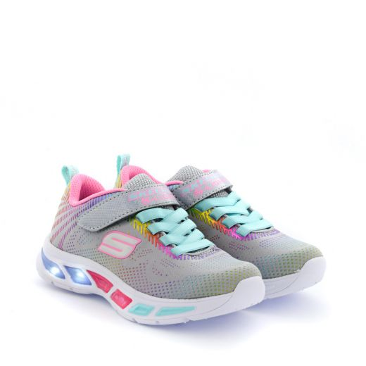 Pantofi Sport Fete Litebeams Gleam N Dream Grey Multi L