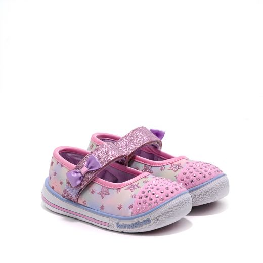 Tenisi Fete Twinkle Play Starry Sparks Pink