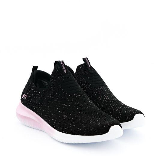 Pantofi Sport Ultra Flex Metamorphic Black and Rose