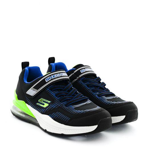 Pantofi Sport Baieti Skech Air Blast Tallix Black Lime