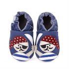 Pantofi bebelusi Jolly Peg Bleu